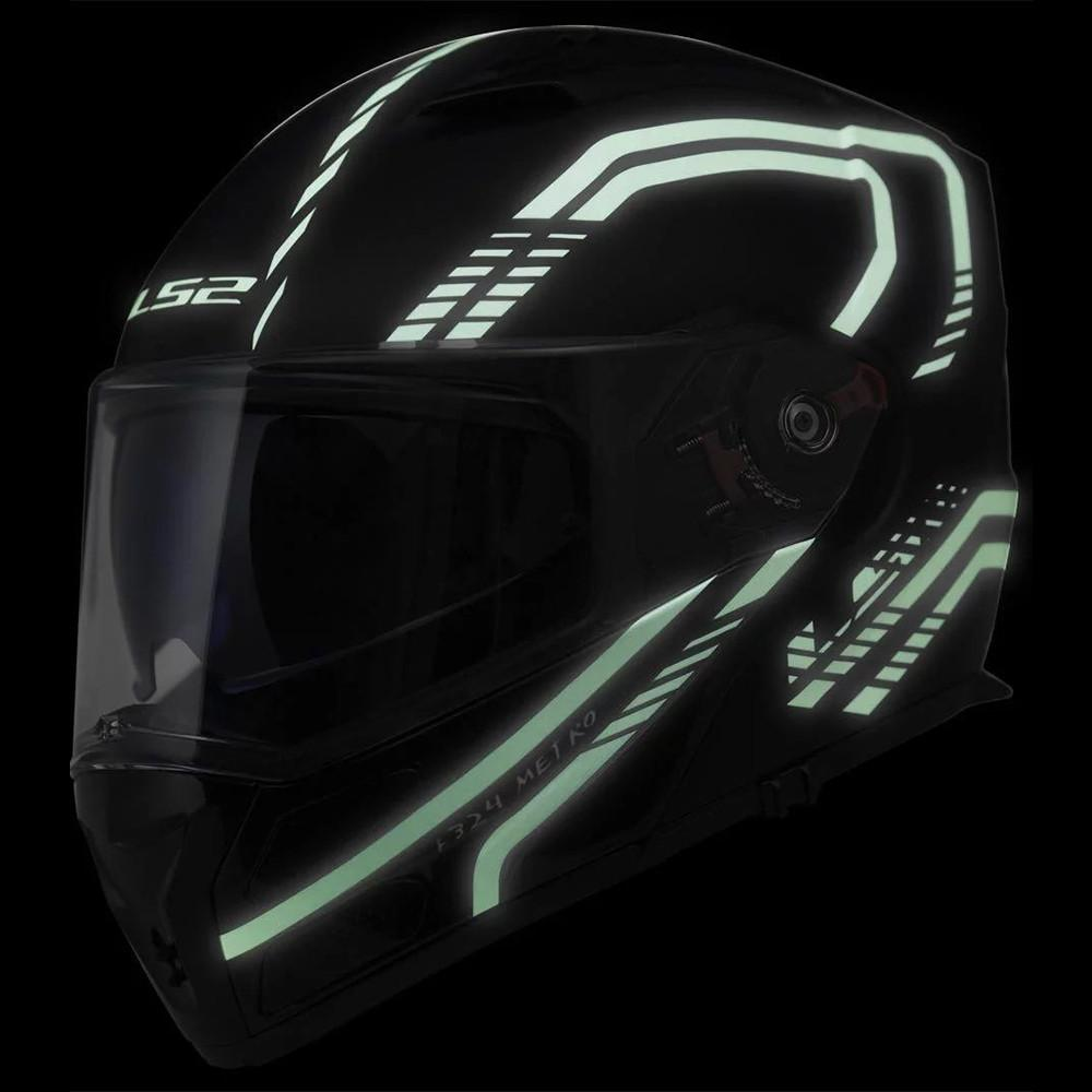 Acheter Casque Moto Ls2 Metro Ff324 Firefly Casques Modulaires Flip