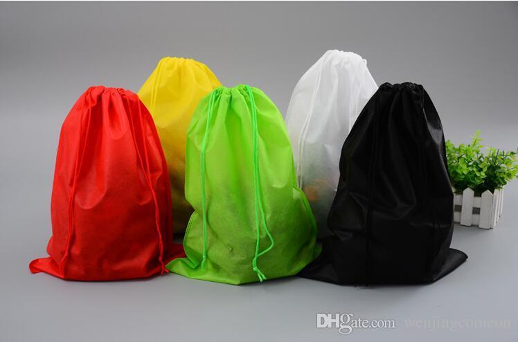 비 짠 옷 저장소 먼지 가방 핸드백에 대 한 여행 여행 잡화 스토리지 당겨 밧줄 39 * 30cm 32 * 22cm 25 * 16cm