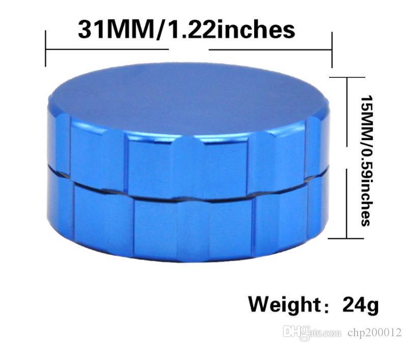 Meuleuse fine en alliage d'aluminium à deux couches