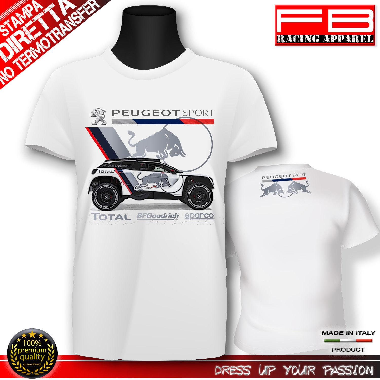 ba671e8bfeb3a 2018 New Summer Cool Tee Shirt T Shirt France Car 3008 2018 DKR PERU  BOLIVIA ARGENTINA Rally Car Cotton T Shirt Neck T Shirts T Shirts Only From  Bellecome, ...
