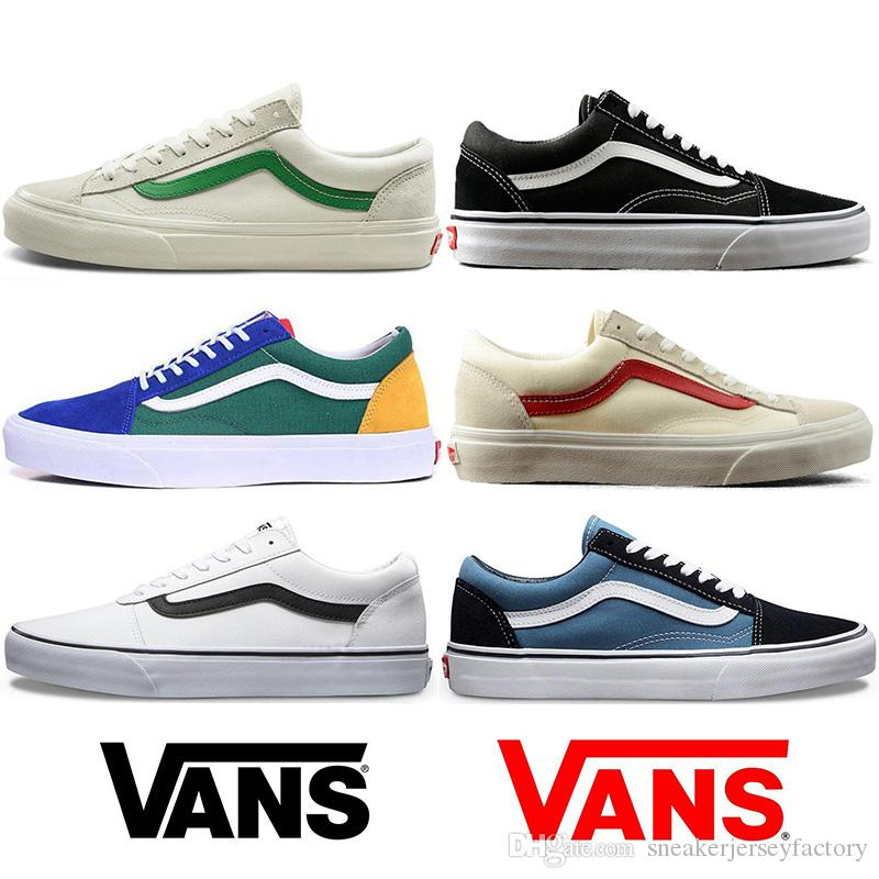 2019 2018 New Golf Wang X Vans Old Skool Pro Men Womens Casual Shoes