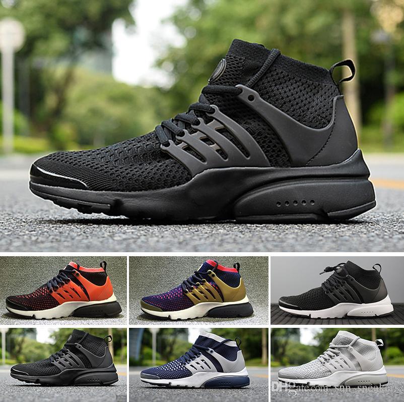 size 40 0f91c ae261 Acquista NIKE Air Presto Flyknit Ultra Sneakers STIVALI 2018 Corsa ACRONYM  X Presto Mid Uomo Size36 45 Scarpe Da Ginnastica Alte Qualiy Deportivas  Sport ...