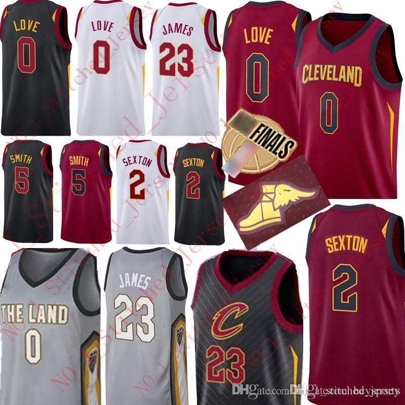 8e00869773d 2018 2018 New Cleveland 0 Kevin Love 2 Collin Sexton Cavaliers Jersey 23  LeBron James 5 JR Smith Men'S High Quality Basketball Jerseys From  Heysports, ...