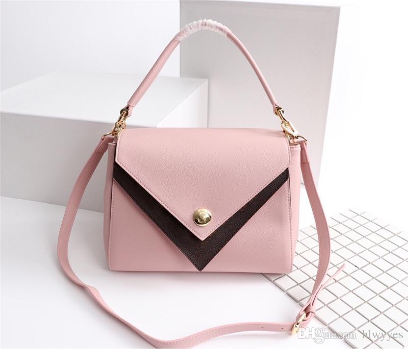 0b55c1f63242 Designer Handbags Luxury Brand Alphabet Surface DOUBLE Style Genuine  Leather Fashion Bags 4 Style Model M5443901 Leather Bags Handbags On Sale  From Hlwyyes