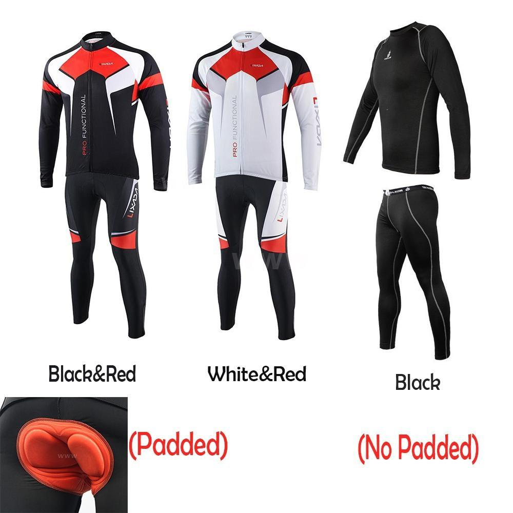 64f014952 Cycling Jersey Bike Bicycle Baselayer Underwear Suit Long Sleeve Jersey  Sports ClothesCN Size Here