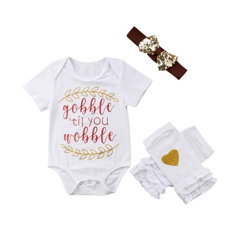 629f4724b 2019 Newborn Toddler Baby Kid Girl Clothes Heart Print Legging Bow Sequin  Headband Round Neck Short Sleeve Bodysuit Cotton Outfit From Qwinner, ...