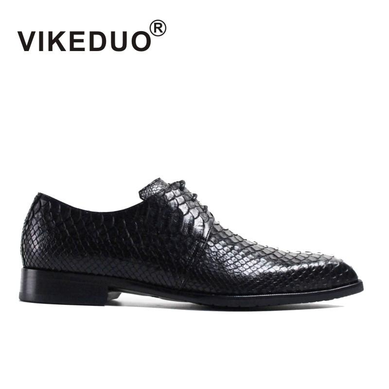 Designer Snake Skin Fashion Leather Casual Shoes Men Party Height Increasing Gold Wedding Dress Male Footwear Oxfords For Men Shoes