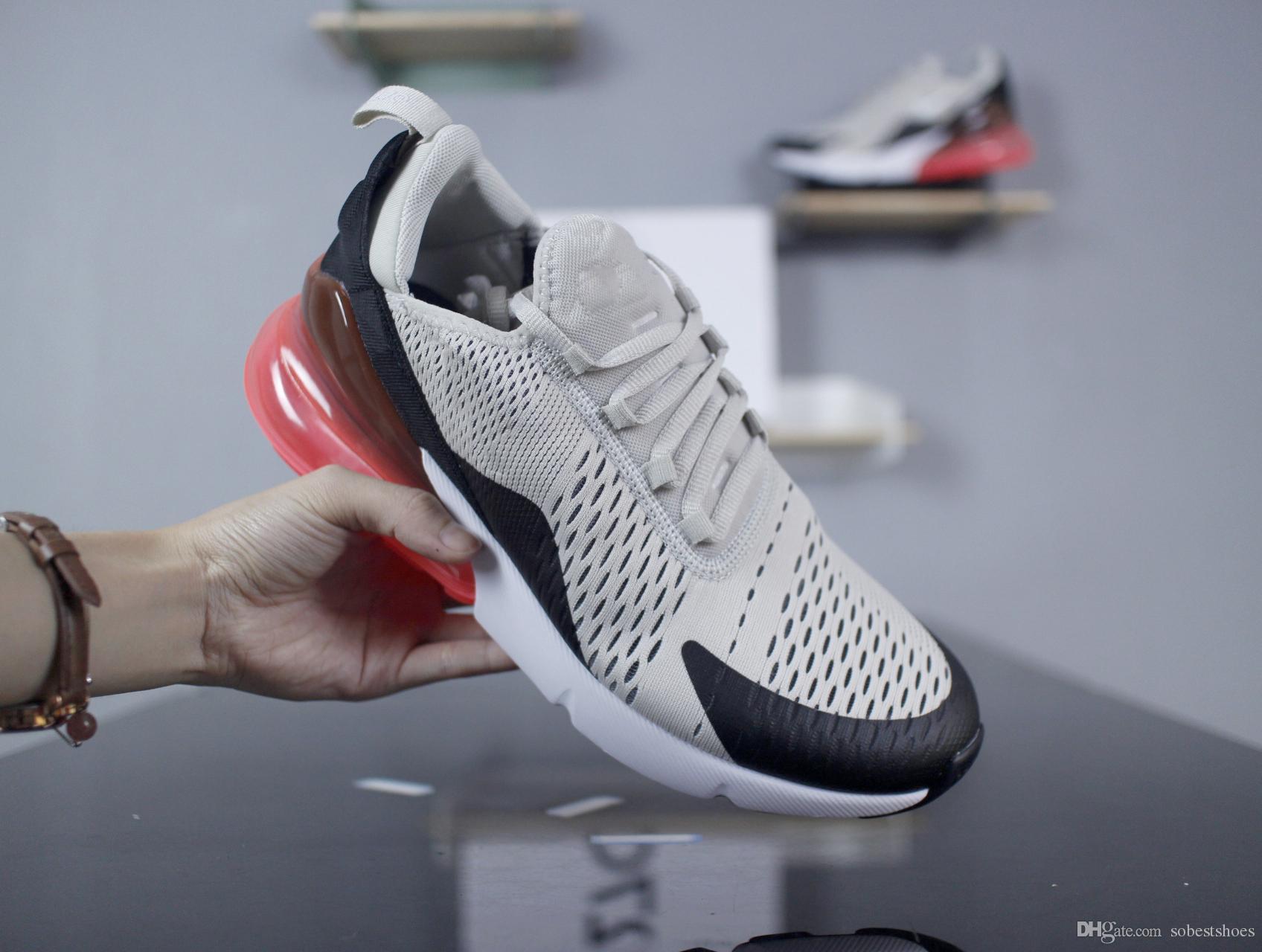 sports shoes 50333 0b23f Acheter Nike Air Max Nike 270 Shoes Supreme Off White Vapormax 270  Nouveautés Blanc Blanc Noir Triple Black AH8050 Chaussures De Course Pour  Entraîneur ...