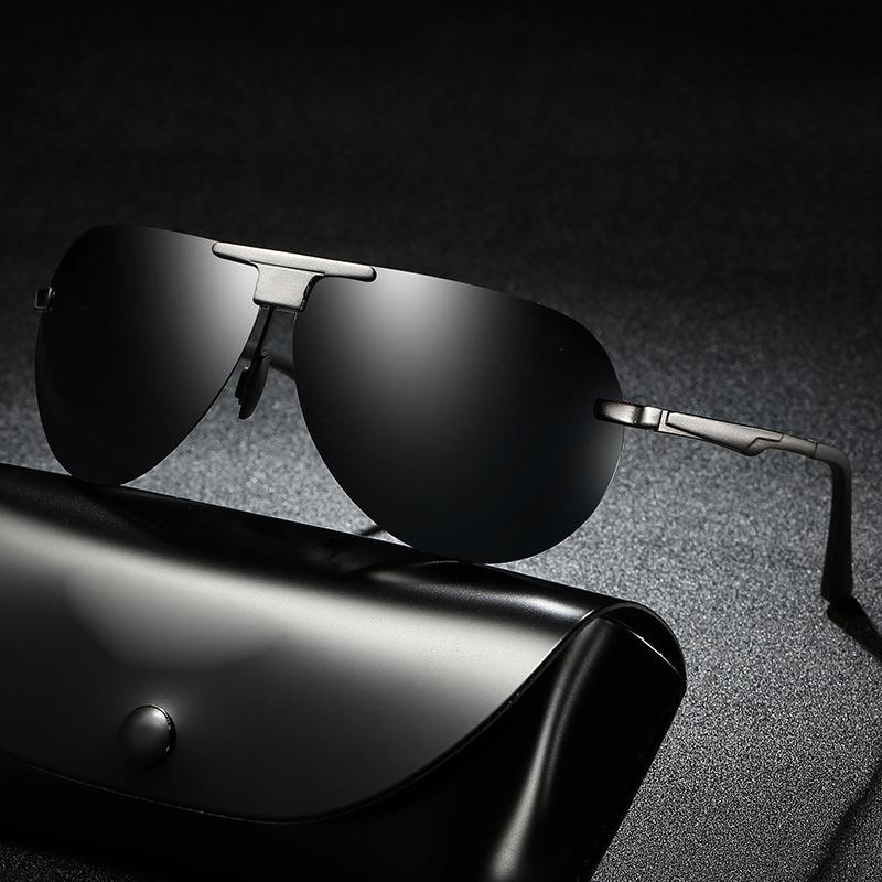 6cc35bba5ff 2018 Fashion Sunglasses Men Mirror Mens Sun Glasses Big Oversized Round  Driver Fishing Desinger Eyewear HD Lens Sports Glass John Lennon Sunglasses  Wiley X ...