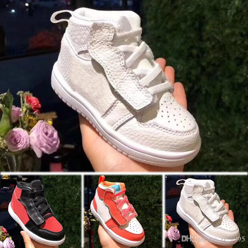 quality design 50670 16191 Without Box Kids Penny Hardaway Galaxy One 1 Men Basketball Shoes Olympic  Running Shoes Sneakers Olympic Training Sports Shoes 28 35 White Tennis  Shoes For ...