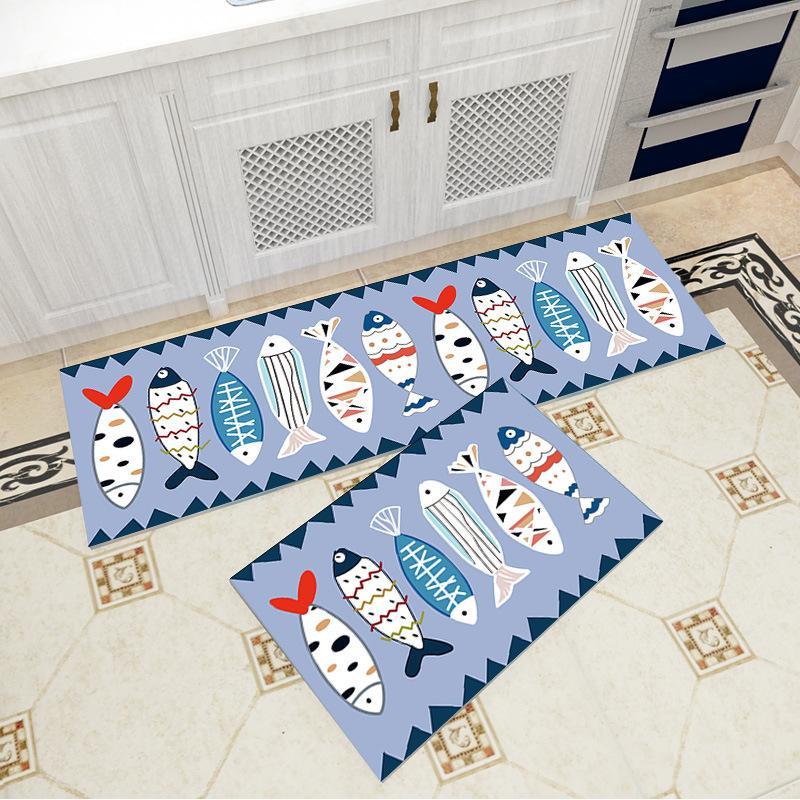 Großhandel Einfache Europäische Teppiche Für Küche Teppich Teppich Kissen  Badezimmer Tür Matten Außen Matte Kissen Schlafzimmer Bettdecke Teppich  Fußmatte ...