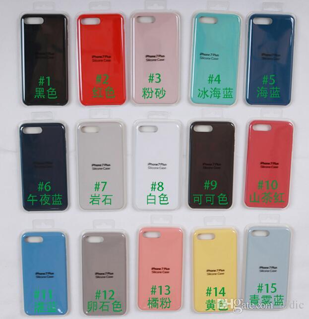 b342a4f4c99 Fundas De Celulares Personalizadas Venta Al Por Mayor Funda De Silicona  Original Para IPhone 5 SE 6 6S 78 Plus Y Para IPhone X Carcasa Para  Celulares Por ...