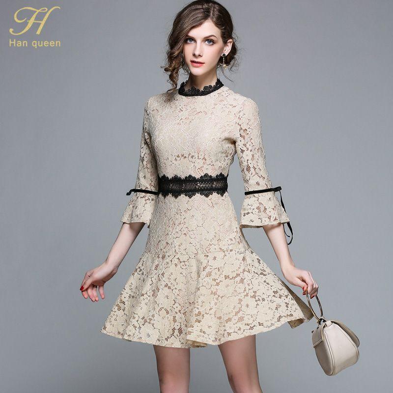 Mesh Lace Dress