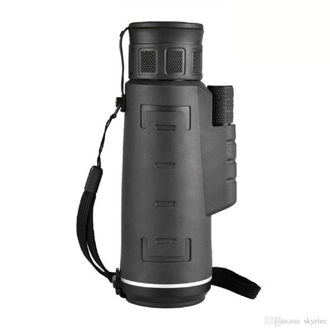Nuit Monoculaires 40X60 Boussole HD télescope monoculaire de l'extérieur Affichage du paysage