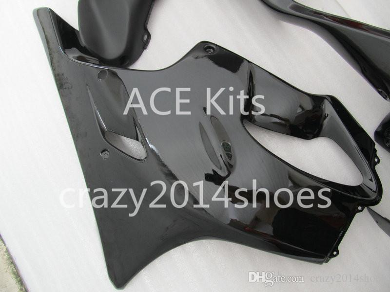 Body repair parts for HONDA CBR600 F4I 01 02 03 CBR600F4I 2001 2002 2003 F4I CBR600 Black Fairings set HP17