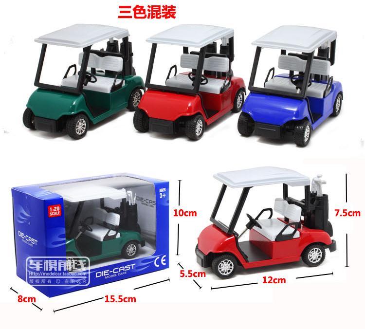 Grosshandel 1 20 Mini Golf Auto Legierung Wagen Modell Spielzeugauto