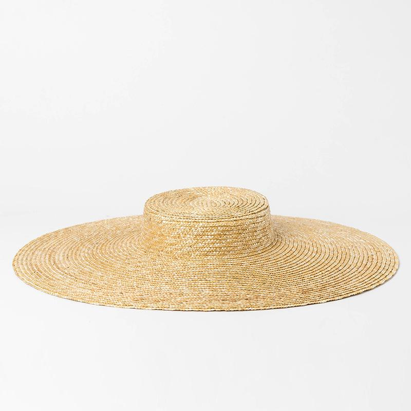 Wide Brim Hat Women Summer Vintage Straw Boater Hat 2018 Beach Floppy Hats  For Ladies Holiday Top Quality 681079 Beanie Hats Winter Hats From  Spectalin 268beb30e37