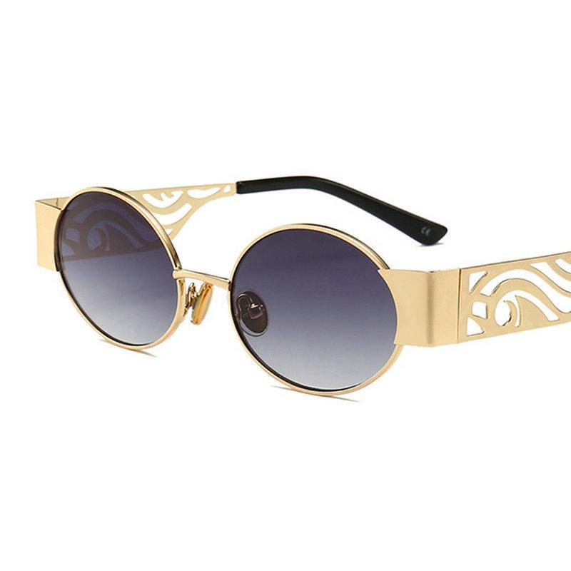 bfaac831bab MINCL  2019 New Fashion Punk Sunglasses Men Round Hip Hop Style Sun Glasses  Brand Designer Vintage Punk Eyewear With Box NX Baseball Sunglasses John  Lennon ...