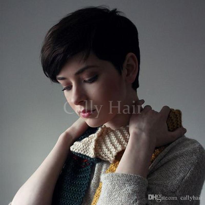Corte de pelo mujer corto con maquina