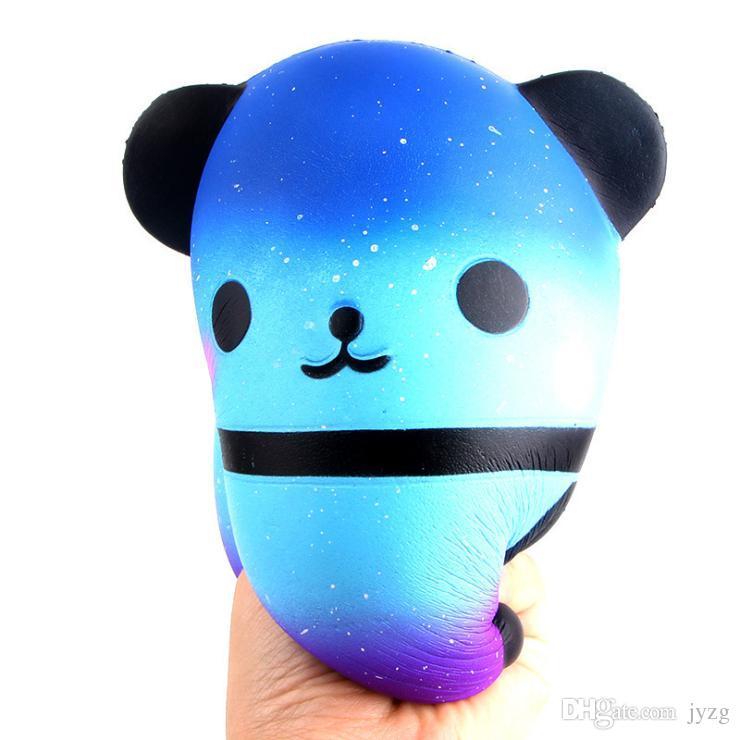 Jumbo Squishy Kawaii Panda Ayı Yumurta Şeker Yumuşak Yavaş Yükselen Sıkı Sıkmak Çocuk Oyuncakları Stres Rahatlatmak Bauble çocuk Günü Hediyeleri