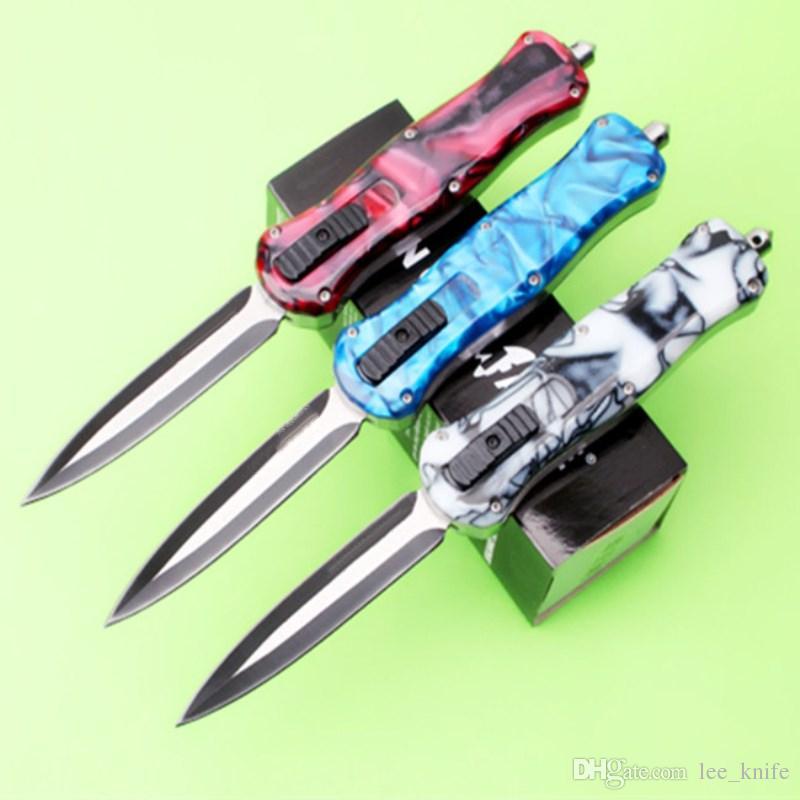 선물 나이프 포켓 나이프 사냥 칼 무료 배송 6 개를 따끔 핫 나비 꿀벌