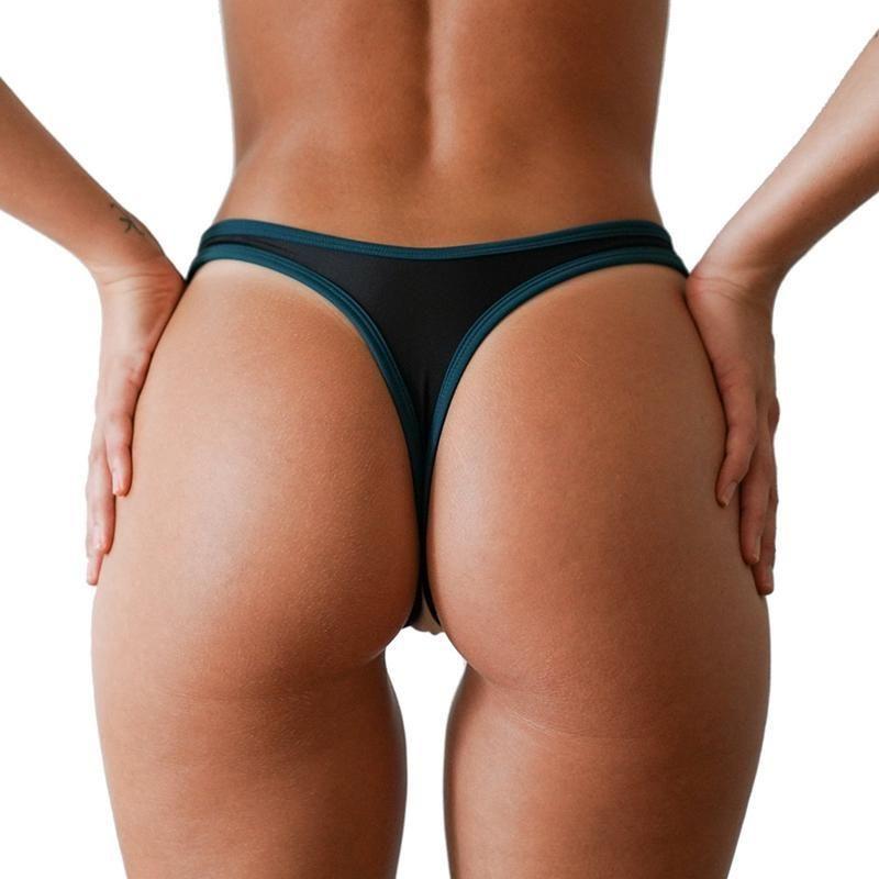 dfcd3c96b Compre 2018 Mulheres Brasileiras Sexy Patchwork Tanga Bikini Bottom Sexy  Swimsuit Swimsuit Maiô Banhos De Banho Maillot Bain De Bain Femme De  Houmian