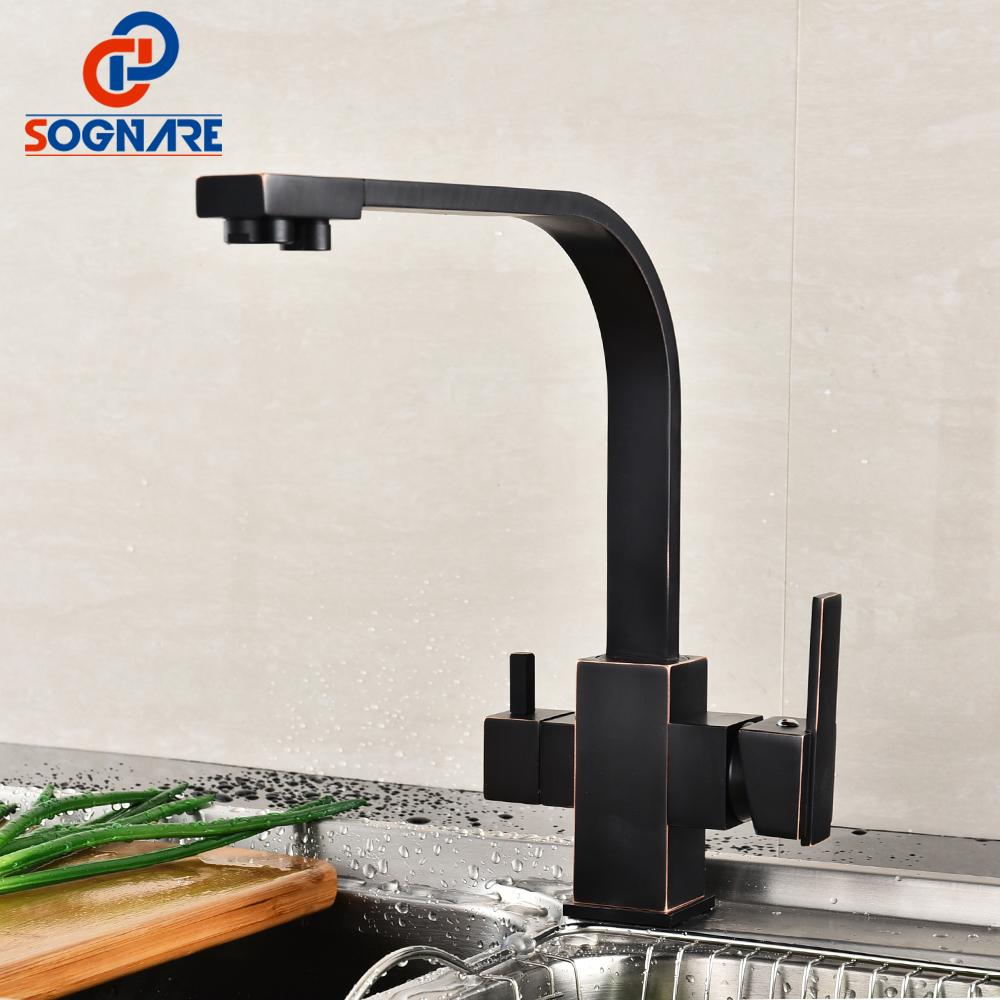 2018 Sognare Drinking Water Filter Faucet 360 Degree Swivel Kitchen ...