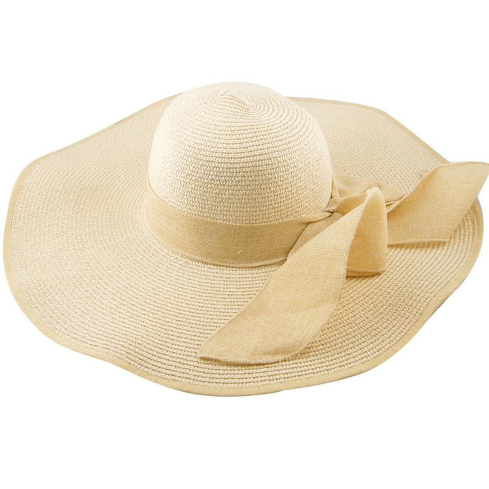ce1bce3b Womens Large Folding Wide Brim Floppy Fold Summer Beach Sun Hat Cap Fedora  Hats For Women Hat Shop From Haydena, $31.16| DHgate.Com