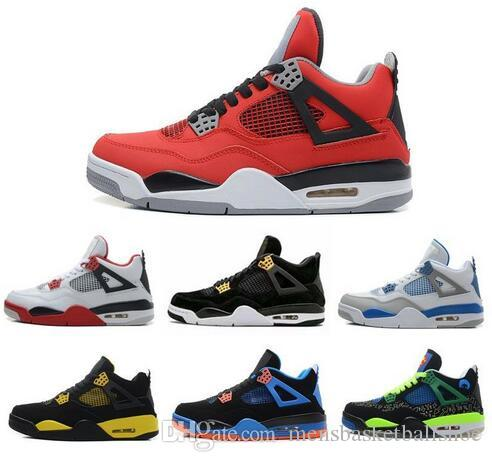 54cea4e224f668 4 New 4s Mens Basketball Shoes Royalty Oreo White Cement Fire Red Fear  Premium Black Cat Bred Alternate Motorsport Blue Sport Shoes Sneakers Mens  Sneakers ...