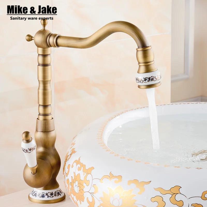 2019 2017 Bathroom Antique Tap Basin Faucet Vintage Kitchen Sink Tap