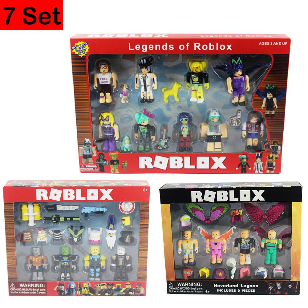 2019 Of Roblox Characters Figure 7 9cm Pvc Game Figma Oyuncak Action