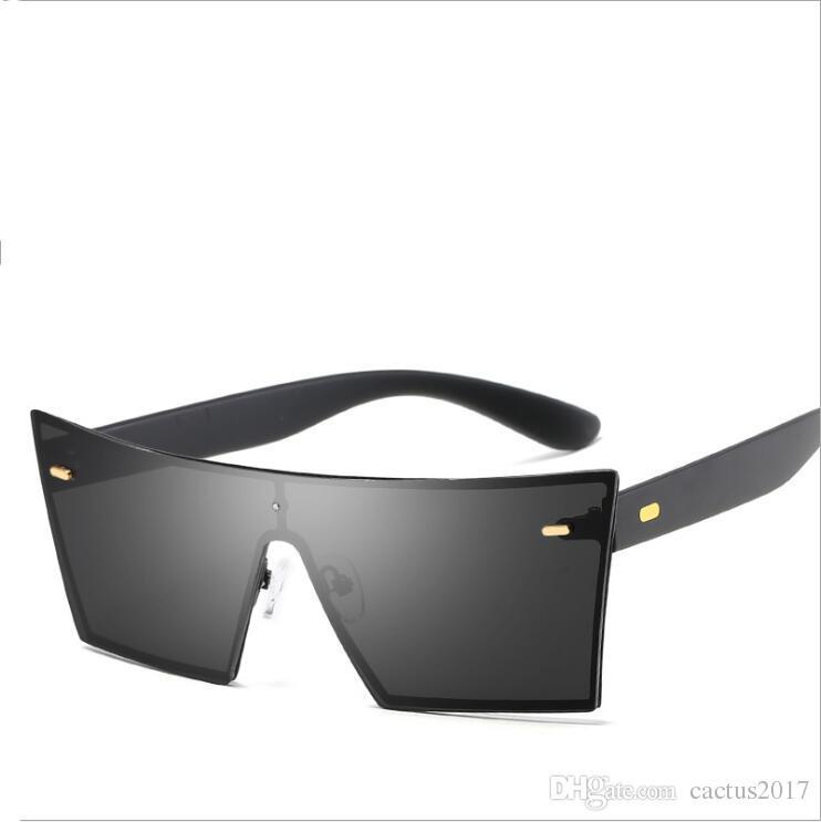 ac44f44aeb Brand Vintage Style Sunglasses Men Flat Lens Rimless Square Frame Women Sun  Glasses Oculos Gafas De Sol Eyewear Sunglasses Shop Bolle Sunglasses From  ...