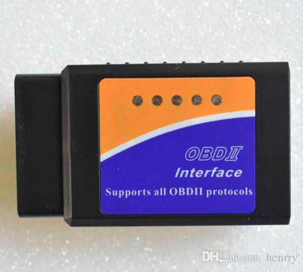 블루투스 ELM 327 BT ELM327 OBD2 ELM 327 CAN BUS 고품질 자동차 진단 스캐너