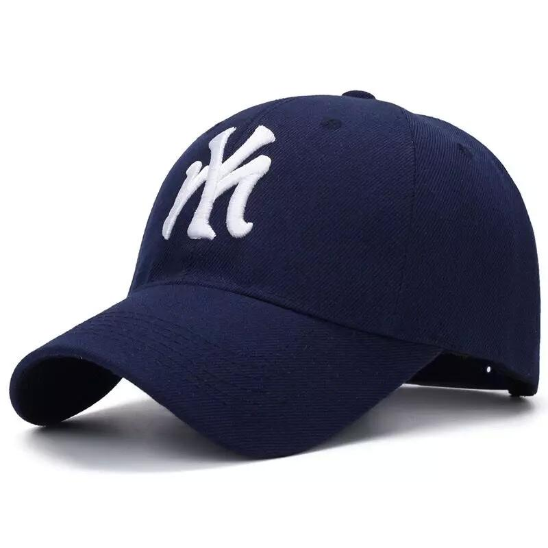 Cotton Blue Adult Unisex Casual Baseball Caps Fashion Snapback Hats For Men  Women Black Sport Gorras NY Cap Cap Hat Flat Caps For Men From Teramont 9485aa704fb