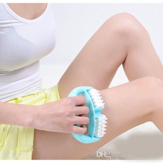 الرعاية الصحية مقبض المطاط آلام العضلات الإغاثة السيلوليت بكرات تدليك الجسم الشوك البلاستيك يتوهم دليل مدلك الأسطوانة