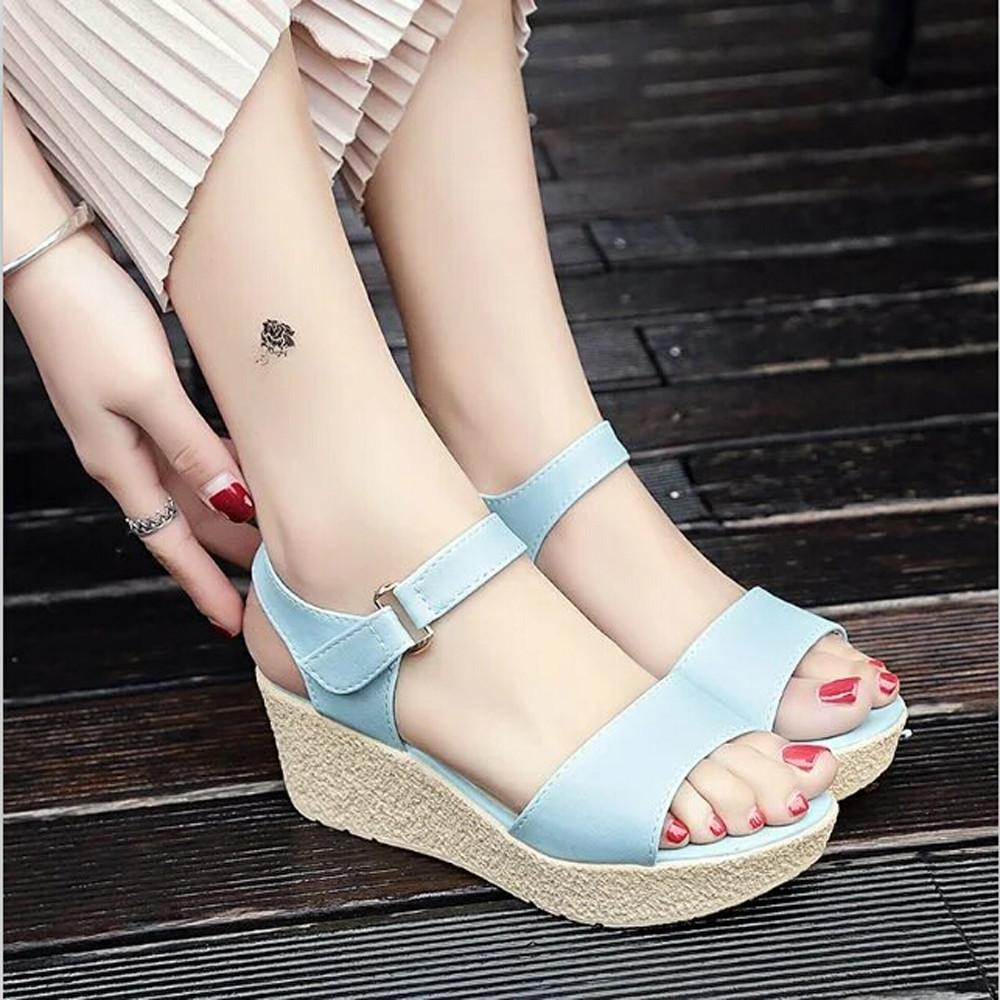 a2be89ffc0ccb Women S Comfort Sandals Summer Flip Flops High Heel Fashion Ladies Wedges  Sandals Platform Open Toe Platform Shoe Women Shoes Cheap Shoes For Women  Buy ...