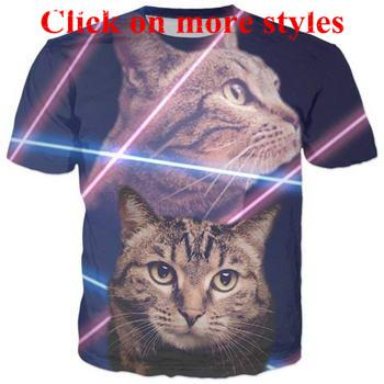 1c8bd24a3 Funny Cat Tshirts New Fashion Men/Women 3d Character T Shirts T Shirt 3D  Print Tshirt Tops 67 Design Tee Shirts T Shirt Funny From Yy0212, $12.11|  DHgate.