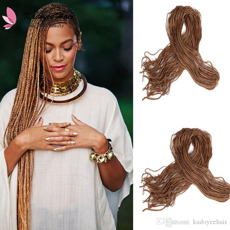 40 Fashion40inchPack 40inch Long ZIZi Crochet Braids Hair Delectable Braid Pattern For Crochet Box Braids