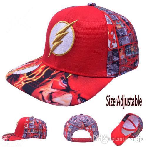 Compre DC Comics The Flash Hat Boné Boné De Beisebol Novo Presente De Homens  Curvilíneos De Hip Hop NOVO DFA De Vipjx 3e152d9689b