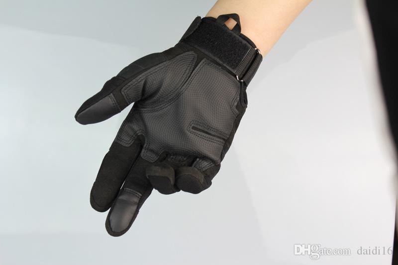 لمس في الهواء الطلق قفازات دراجة نارية القتال الصلب المفصل كامل اصبع قفازات شحن مجاني