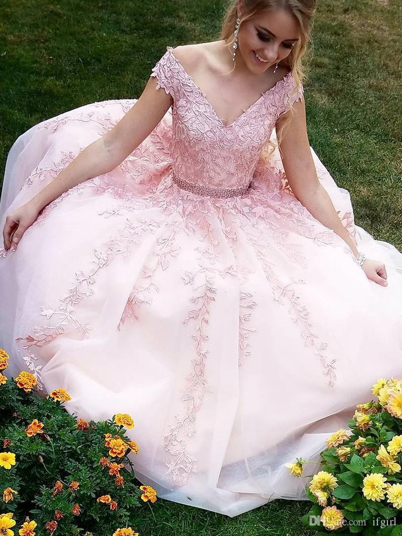 Pink and Orange Prom Dresses