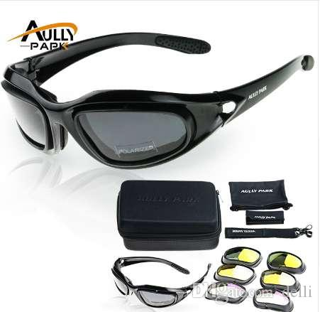 857a159947 Motorcycle Glasses Army Polarized Sunglasses For Hunting Shooting Airsoft  EyewearMen Eye Protection Windproof Moto Goggles UV400 Motocross Goggles  Motocross ...