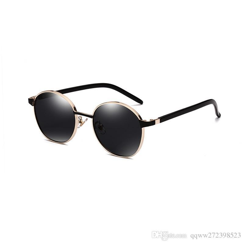 Compre Momo 3558 Das Mulheres Coreanas Óculos De Armação Redonda Óculos De  Sol Das Mulheres Tendência Retro Tmall Hot Sale Taobao Hipster Necessário  Estilo ... 555fdff04a