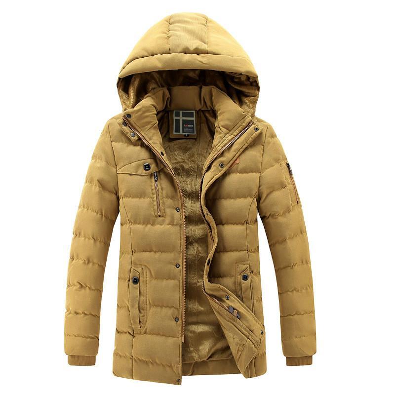 Mode Acheter Hommes D'hiver Épais Manteau Nouveaux 2018 Chaud Parkas wFPPqHaX