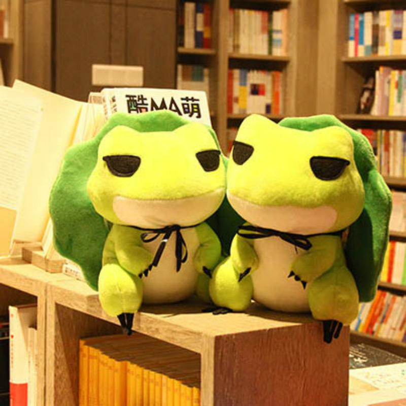 Wholesale Manufacturers Trend Travel Frog Doll Plush Toys Cute Cartoon  Cloth Doll Frog Doll Lovely Gifts for Girls