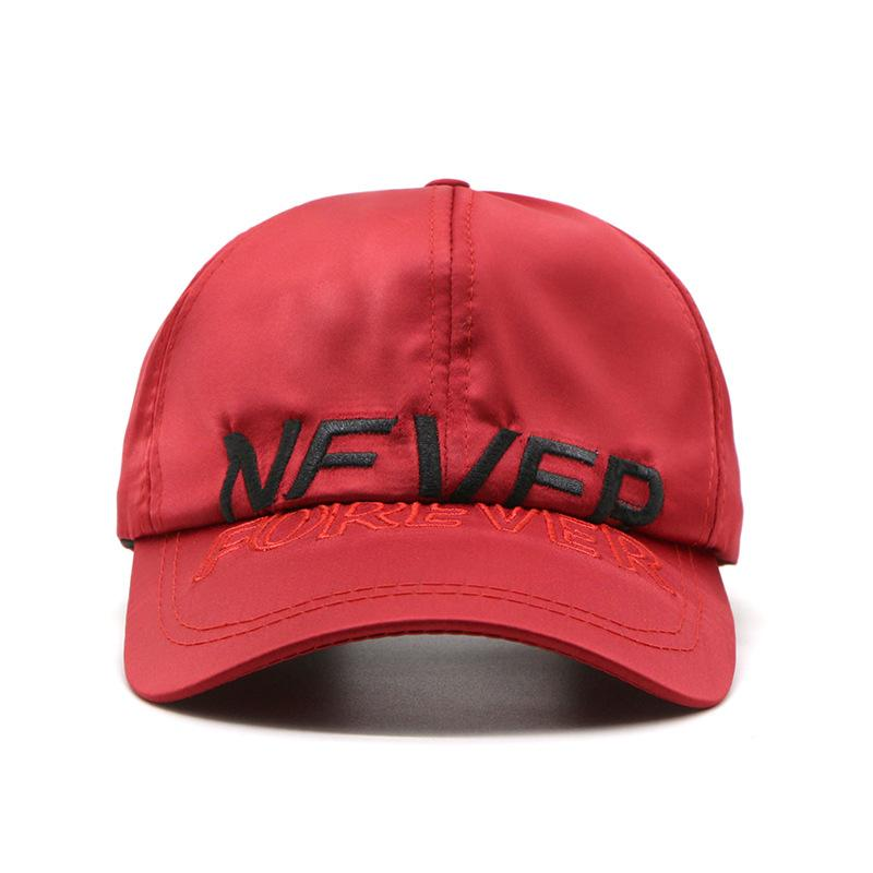 Baseball Cap Women Men s Adjustable Cap Casual Leisure Hats Red ... fe9679b6d80b