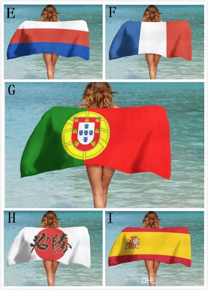 Новый горячий 100% хлопок печатных внешней торговли плавание пляжное полотенце солнцезащитный крем Шаль мягкие удобные персонализированные настройки