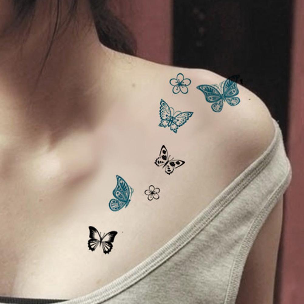 Tatuajes Temporales A Prueba De Agua Pegatinas Tatuaje Cuerpo Arte