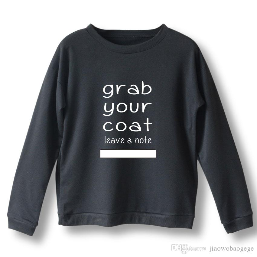Grab your jacket ladies sweatshirt hoodie Bts love yourself tear hot sale print girl cool sweatshirt fashion large size S-Xl