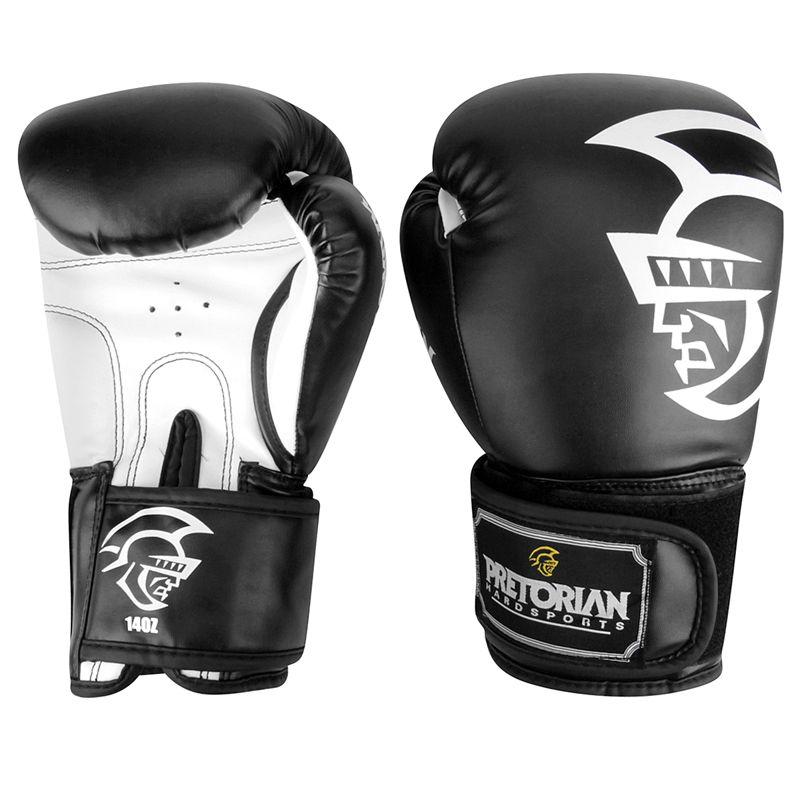 b19cc03b5 Compre PRETORIAN Luvas De Boxe De Treinamento Para Boxe MMA Muay Thai PU  Engrossar Luta De Pontapé Luvas De Boxe Luvas 10 OZ 12 OZ 14 OZ F De  Molasport